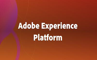 Adobe Experience Platform – ADOBE QUALIFIED