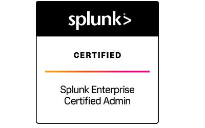 Splunk Enterprise Certified Admin